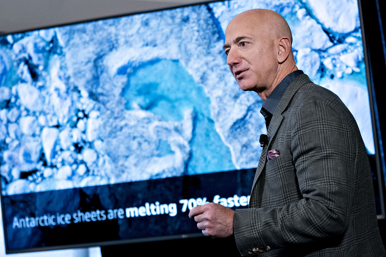 Jeff Bezos's $10 Billion Environmental Gift Tops Chronicle List of the Biggest Charitable Donations of 2020