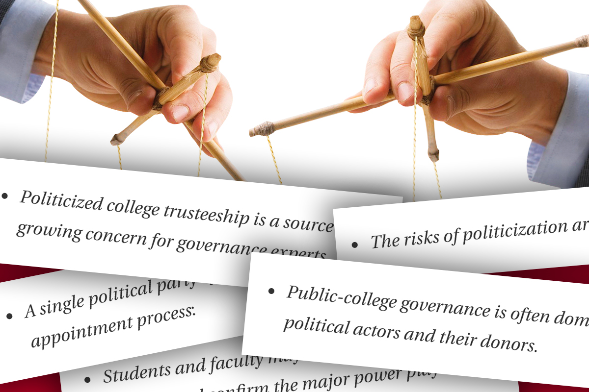 Partisan College Governance